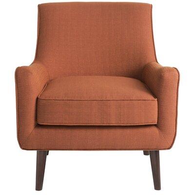 Bridgeton Arm Chair Upholstery: Orange