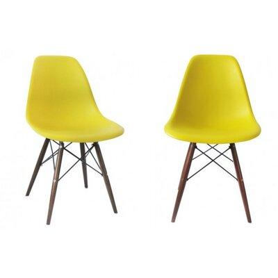 Harrison Side Chair Finish: Yellow
