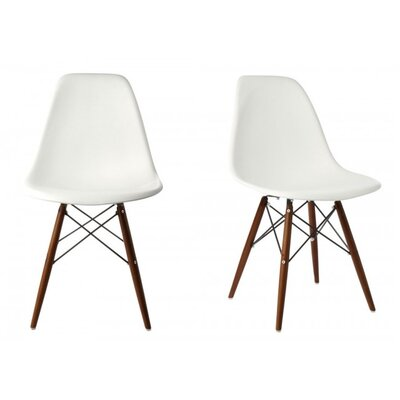 Harrison Side Chair Finish: White