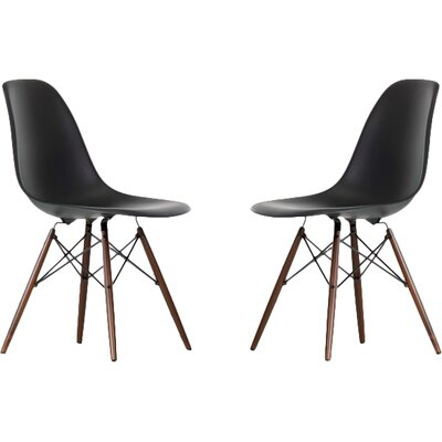 Harrison Side Chair Finish: Black