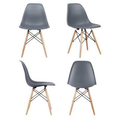 Harrison Side Chair Upholstery: Dark Gray