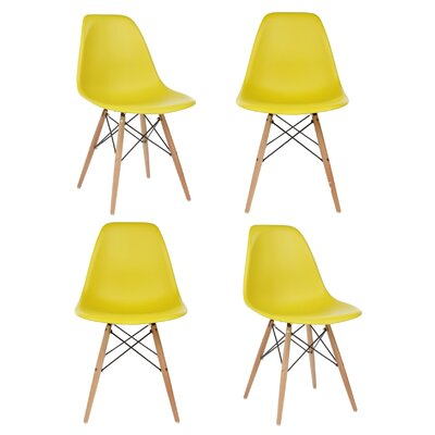 Harrison Side Chair Upholstery: Dark Yellow