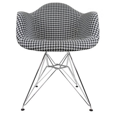 Ginger Modern Armchair Color: Houndstooth Pattern