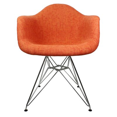 Ginger Modern Lounge Chair Color: Orange