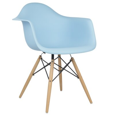 Regina Solid Wood Dining Chair Finish: Light Blue