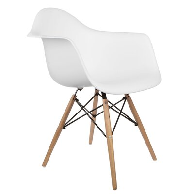 Regina Solid Wood Dining Chair Finish: White