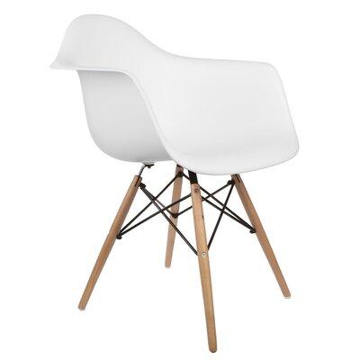 Regina Arm Chair Finish: White