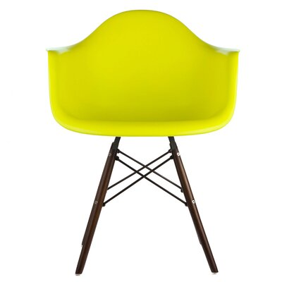 Hamburg Solid Wood Dining Chair Finish: Light Yellow