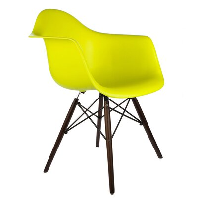 Hamburg Modern Solid Wood Dining Chair Finish: Light Yellow