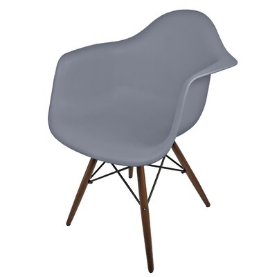 Hamburg Solid Wood Dining Chair Finish: Dark Gray