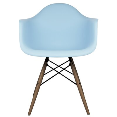 Hamburg Solid Wood Dining Chair Finish: Light Blue