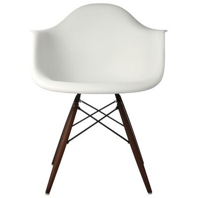 Hamburg Solid Wood Dining Chair Finish: White