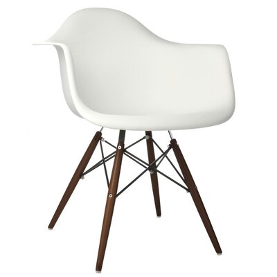 Ellington Arm Chair Finish: White
