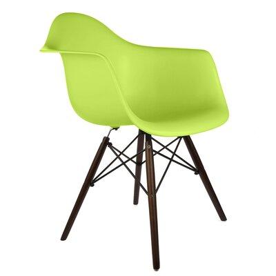 Ellington Arm Chair Finish: Green