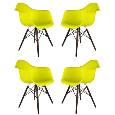 Ellington Arm Chair Finish: Light Yellow