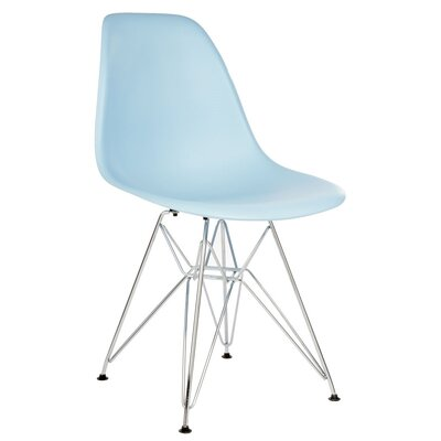 Larita Side Chair Finish: Light Blue