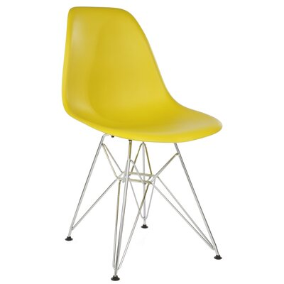 Hammond Modern Side Chair Finish: Dark Yellow