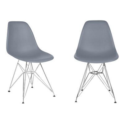 Harrison Side Chair Finish: Dark Gray