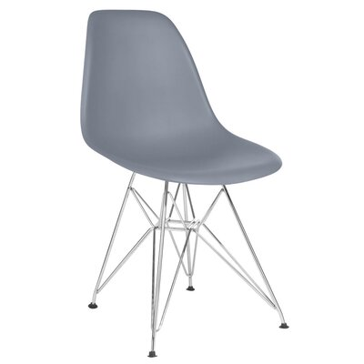 Hammond Modern Side Chair Finish: Dark Gray