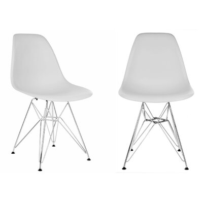 Harrison Side Chair Finish: Light Gray