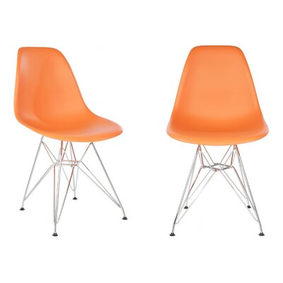 Harrison Side Chair Finish: Orange