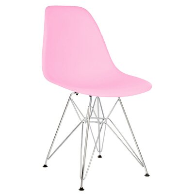 Hammond Modern Side Chair Finish: Pink
