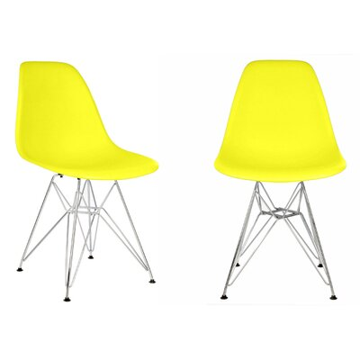 Harrison Side Chair Finish: Light Yellow