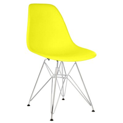 Larita Side Chair Finish: Light Yellow