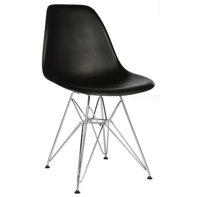 Hammond Modern Side Chair Finish: Black