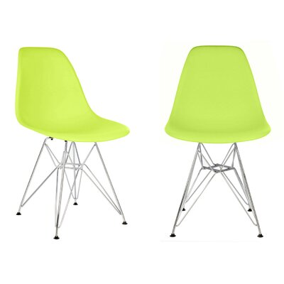 Harrison Side Chair Finish: Green
