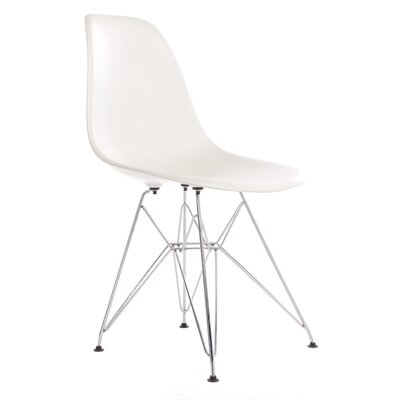 Hammond Modern Side Chair Finish: White