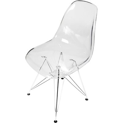 Larita Side Chair Finish: Clear