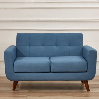 Magic Loveseat Upholstery: Paynes Grey