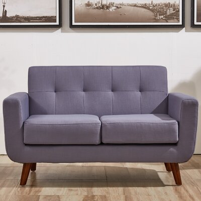 Magic Loveseat Upholstery Color: Taupe Gray