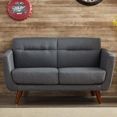 Magic Loveseat Upholstery: Gray