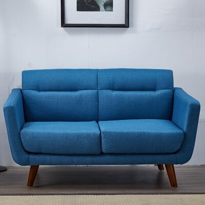 Magic Loveseat Upholstery: Ocean Blue