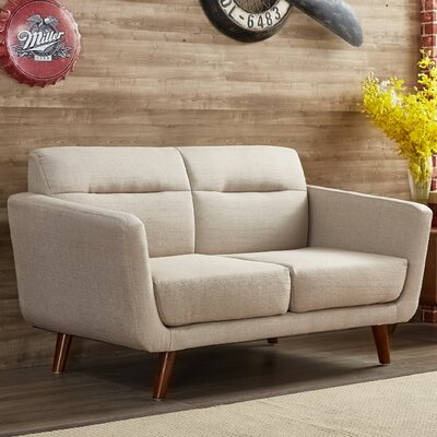 Magic Loveseat Upholstery: Beige