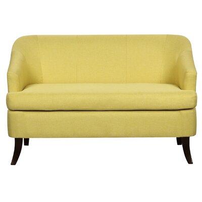 Magic Morden Loveseat Upholstery: Yellow