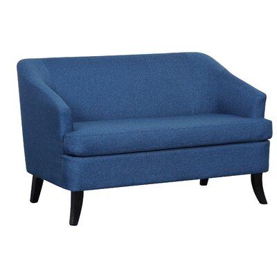 Magic Morden Loveseat Upholstery: Blue