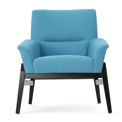 Fabric Club Chair Upholstery: Teal