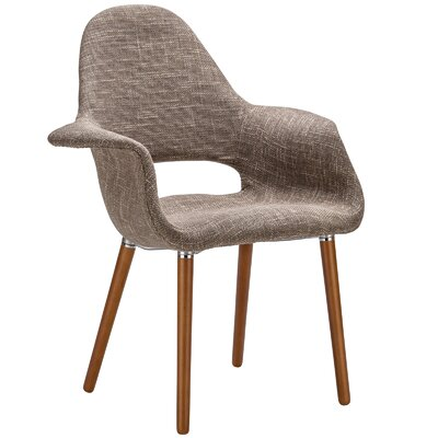 Kansas City Arm Chair Upholstery: Taupe