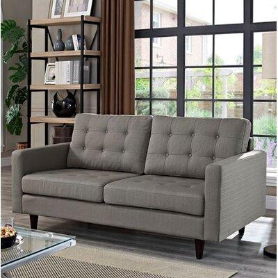 Warren Loveseat Upholstery: Light Grey