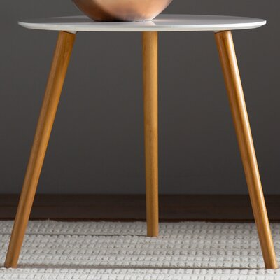 Phoebe End Table Finish: White