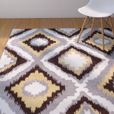 Patton Geometric Area Rug Rug Size: 23 x 311