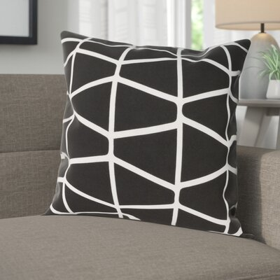 Halverson 100% Cotton Pillow Cover Size: 22