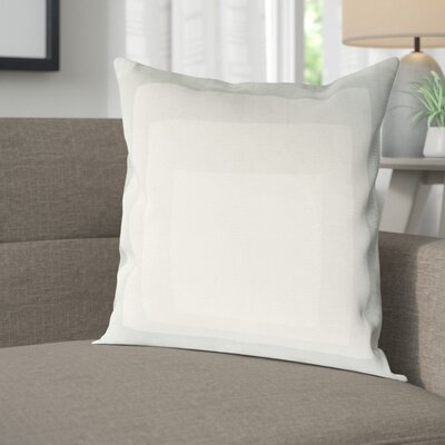 Akron 100% Cotton Pillow Cover Size: 22 H x 22 W x 1 D, Color: NeutralGreen