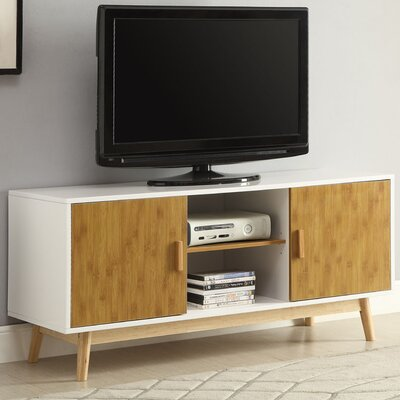 Phoebe 47 TV Stand Color: White