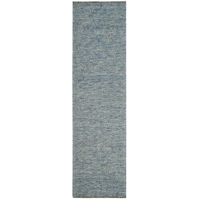 Daytona Beach Hand-Tufted Blue Area Rug Rug Size: Runner 23 x 8