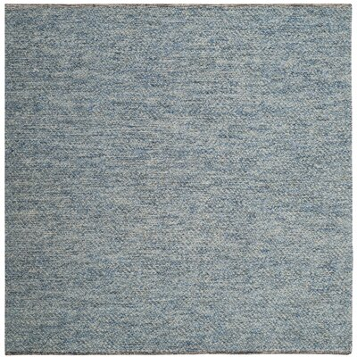Daytona Beach Hand-Tufted Blue Area Rug Rug Size: Square 6