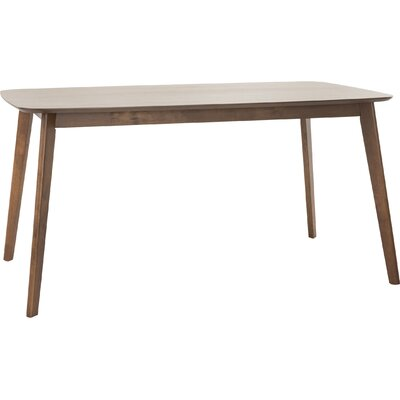Memphis Dining Table Finish: Natural Walnut